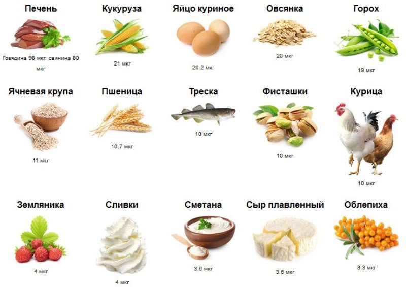 Функции и последствия дефицита витамина в7